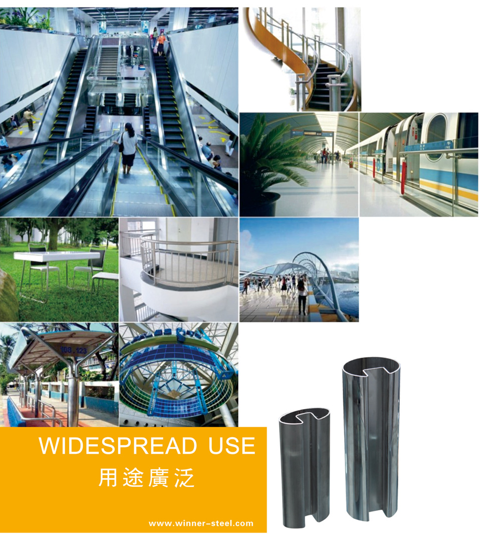 Special Shaped Stainless Steel Profiles Tube